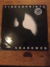 FINGERPRINTZ  Shadowed 12 inch VS 420 Virgin Records 1981 RARE EXC