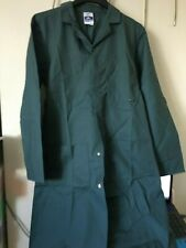 Lab Warehouse Coat Overall Portwest Workwear Green small