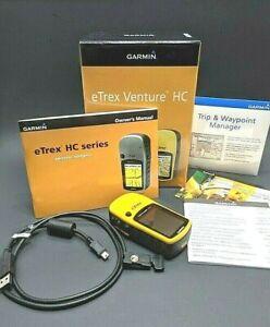 Garmin eTrex Venture HC Handheld GPS Hiking Hunting Fishing Geocaching Driving