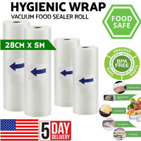 Rolls Best Food Vacuum Sealer Bags Kitchen Food Storage Bags Vacuum Machine USA
