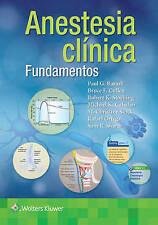 Barash. Fundamentos de anestesia clínica (Spanish Edition) by Paul G. Barash