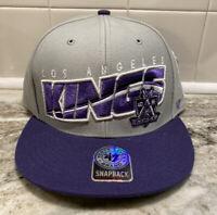 LOS ANGELES LA KINGS NHL FLAT BILL SNAPBACK SURE SHOT NHL CAP HAT NEW '47 BRAND