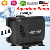 660GPH 2500L/H Deluxe Water Pump Submersible Pond Fish Tank Aquarium Fountain US