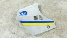 Husqvarna 400 WR 400WR left side radiator shroud plastic cover panel
