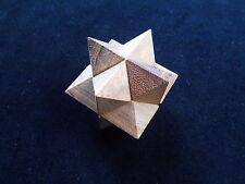 3 Puzzle gift set Sz large PREMIUM  wood brain teaser