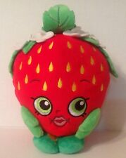 """Shopkins"" Strawberry Kiss Plush Toy Grand Stocking Filler collection 7"" Haut"