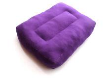 Purple Cotton Meditation Cushion, Rectangular Pillow for Meditation