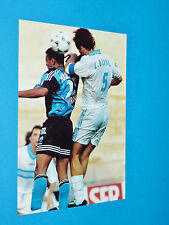 LAURENT BLANC LE HAVRE PHOTO PANINI FOOTBALL 1997-1998 OLYMPIQUE MARSEILLE OM
