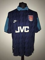 Arsenal 1994-95 Away Vintage Football Shirt - Very Good Condition