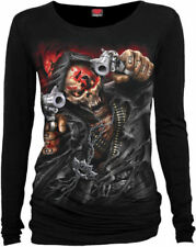 Spiral Long Sleeve Graphic Tees for Men