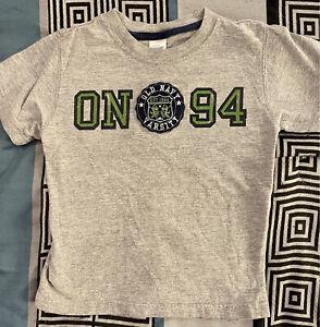 OLD NAVY baby BOY - Toddler - Short Sleeve Varsity shirt 4t - Summer Shirt