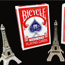 Bicycle Paris Back Limited Edition Red Playing Cards by JAKARTA + Murphy's Magic