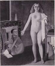 Balthus La Chambre 1947 Pierre Matisse Gallery Tirage postérieur circa 1960