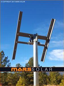 "Mars Solar V2.0 Eagle Solar Panel Rack / 2"" (OD) Pole Mount Fits 40W - 400W"