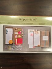 Stampin Up Perpetual Birthday Calendar Simply Created Kit
