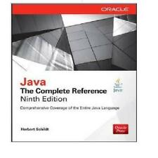 Java: The Complete Reference  (EDN 9) by Herbert Schildt