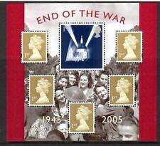 2005 GB END OF THE WAR 50th Anniversary Miniature Sheet MNH MS2547 Mini UMM
