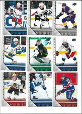 2020-21 UPPER DECK EXTENDED 2005-06 TRIBUTE INSERTS YOUNG GUNS SUZUKI,HALL,POINT