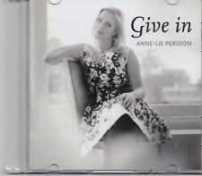 Anne Lie Persson-Give In Promo cd single