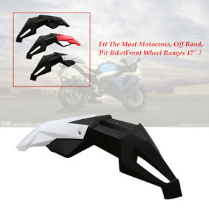 Motorcycle Motocross Dirt Bike Cross-country Front Fender Mud Pit Mudguard