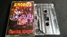 EXODUS Fabulous Disaster *RARE UK MUSIC FOR NATIONS MC TAPE*NM*