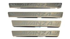 SCUFF PLATE STAINLESS FOR TOYOTA AVANZA 2004-2015