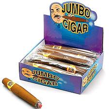 PUFF SIGARO jumbo finto FUMARE FUMO Pimp Gangster che Churchill cubano Fancydress