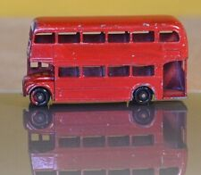LOOSE DIECAST MATCHBOX LESNEY 1-75 NO.5C ROUTEMASTER BUS BPW TO RESTORE