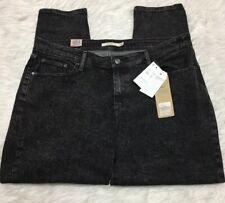 Levi 711 Jeans Skinny Black Gray Speckle Women 20W NWT
