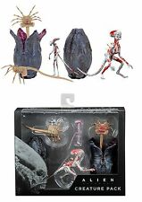 NECA ALIEN COVENANT ACCESSORY CREATURE PACK EGGS, FACEHUGGERS, NEOMORPH FIGURE