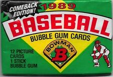 1989 Bowman Baseball Pack Comeback Edition Possible Ken Griffey JR. RC.