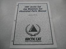 Arctic Cat 1991 Jag Mountain Cat Snowmobile Illustrated Parts Manual