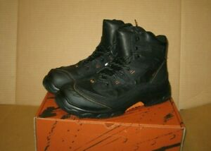 """WORX by Red Wing 6"""" Adamite Composite Toe Work Boots   Size 15    Black   5625"""