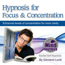 HYPNOSIS FOR FOCUS & CONCENTRATION (CD) GIOVANNI LORDI