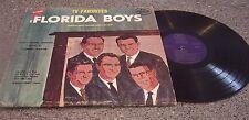 "The Florida Boys ""TV Favorites"" BIG GOSPEL RECORDS LP #SLP-114"