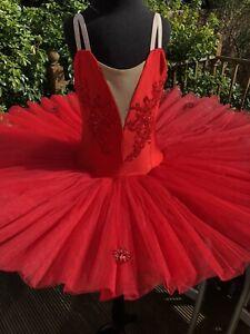 Beautiful Stretch Pancake Ballet Tutu 8-10 yrs New