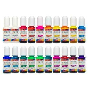 24Colors DIY Craft Epoxy Resin Diffusion Pigment Alcohol Ink Liquid Colorant Dye
