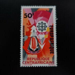 CENTRAFRIQUE POSTE AÉRIENNE PA N°42 EUROPAFRIQUE NEUF ** LUXE MNH