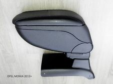 Armrest Center Console Black Storage Adjustable fit Opel Mokka 2013-