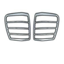 2 ENTOURAGES FEUX ARRIRE CHROME JEEP GRAND CHEROKEE 1999 A 2004