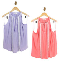 Womens Casual Tassel Sleeveless Loose Cami Vest Tops T Shirt Blouse Size 14 22