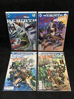 SUICIDE SQUAD REBIRTH LOT/ DC Comic/ 1 2 3 4/ Harley Quinn/ Batman/ Joker