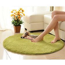 EW Absorbent Soft Memory Foam Bath Bedroom Floor Shower Round Mat Rug Non-slip