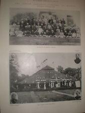 Printed photos India National Congress at Madras 1899