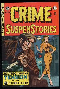 EC Comics Crime SuspenStories No. 25 Jack Kamen Reed Crandall Krigstein 1974