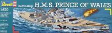 Revell Bausatz Battleship Schlachtschiff H.M.S. Prince of Wales 1:570 Art. 05102