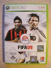 XBOX 360 Spiel FIFA 09 (Microsoft Xbox 360, 2008, DVD-Box) Fußball FIFA 2009