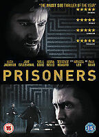 Prisoners [DVD] (2013), Excellent DVD, Hugh Jackman, Jake Gyllenhaal, Terrence H