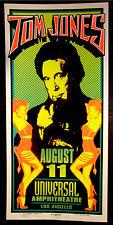 Rare Mark Arminski Tom Jones 1995 Silkscreen Concert Poster