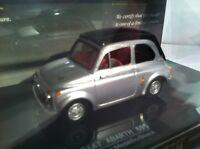 Vitesse 1:43 Fiat Abarth 595 SS1964 Silver/Black VI24510 Number 415 Of 599